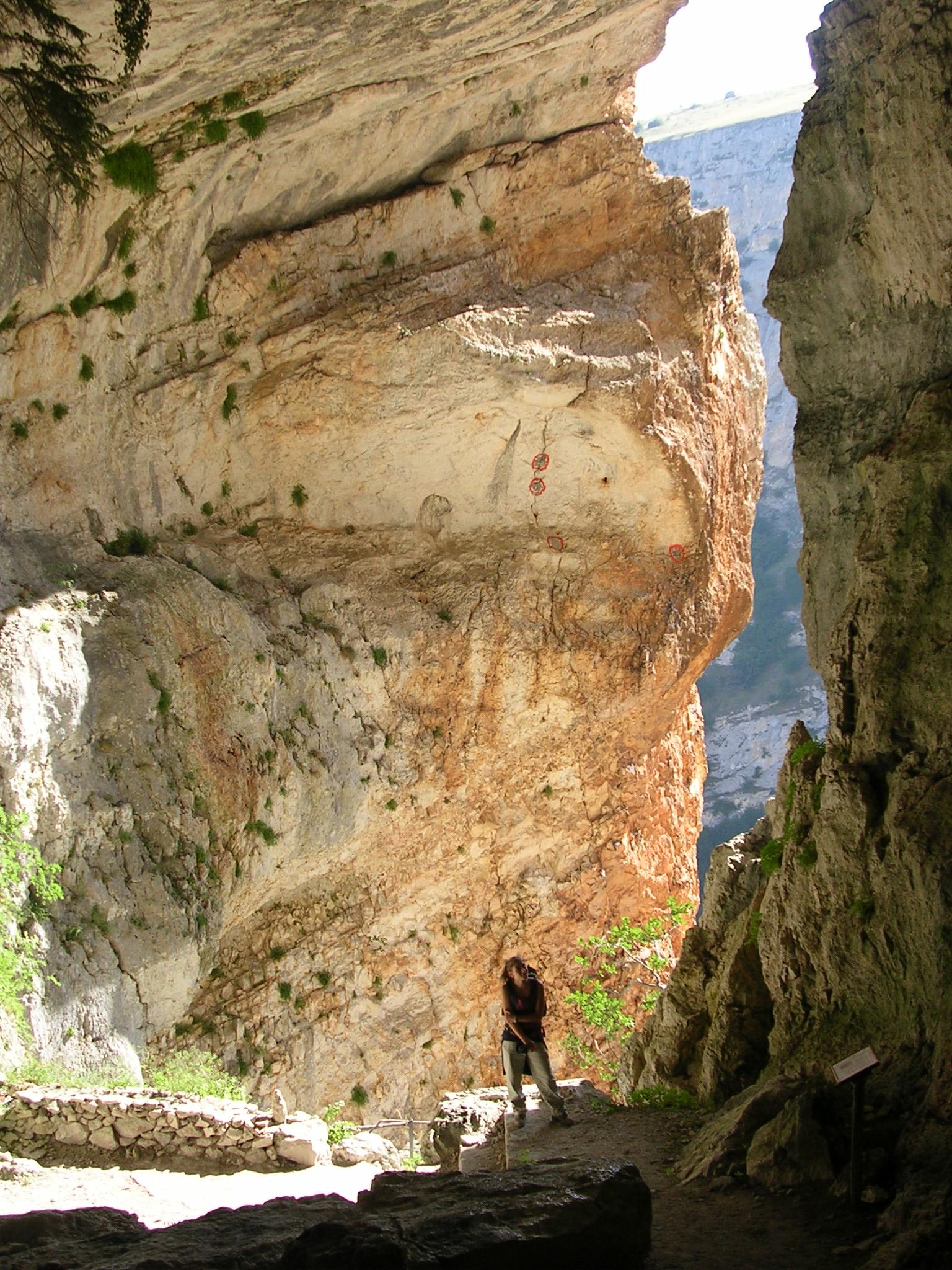Ingresso grotta