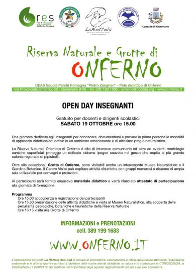 Open Day Onferno