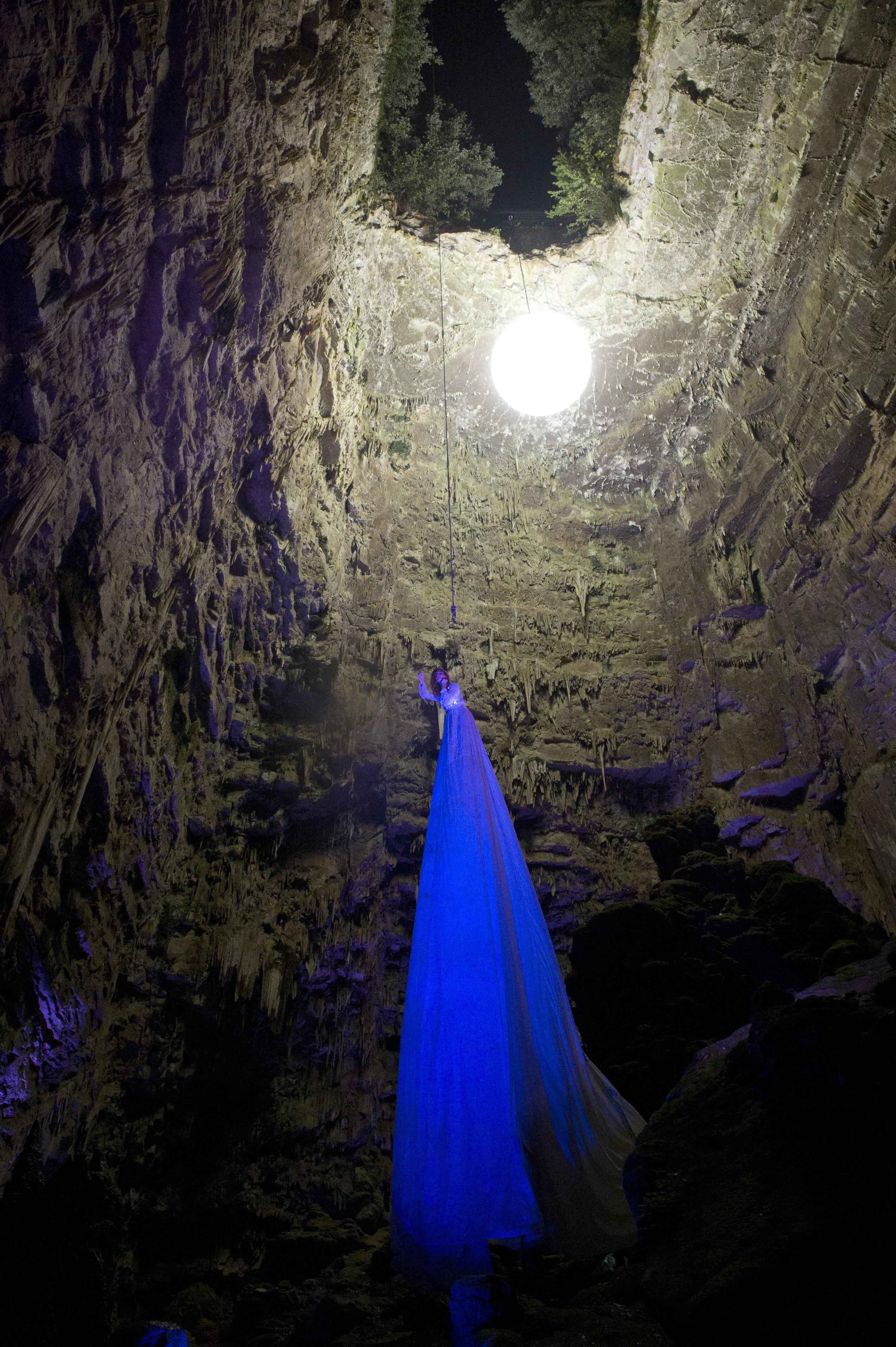 Particolare 2 Hell in the Cave - foto Comune di Castellana