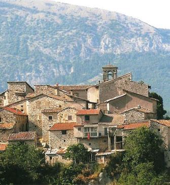 Centro storico di Tonnicoda (Pescorocchiano)