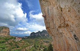 Free climbing (Ulassai)